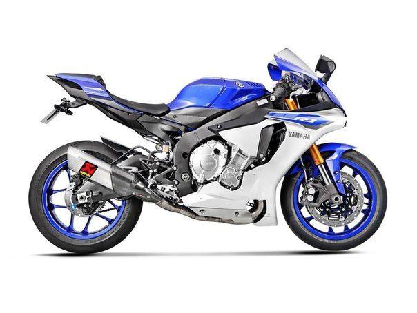 Новинка для Yamaha YZF-R1 от Akrapovic / Только машины