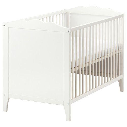 HENSVIK ungbarnarúm. Hvítt | Ikea nursery, Ikea baby, Ikea bed