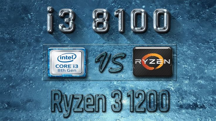 i3 8100 vs Ryzen 3 1200 Benchmarks | Gaming Tests Review & Comparison