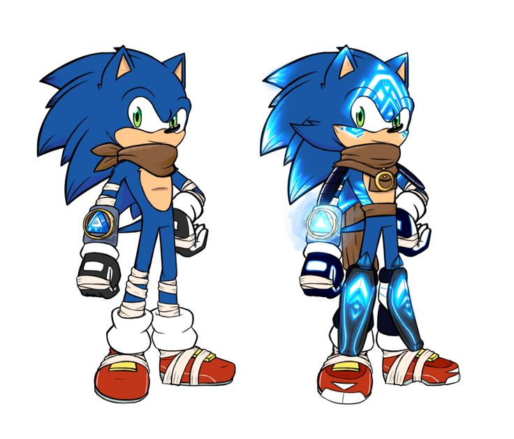 SB2 Sonic and Sonic Ancient by SPJ-artredesign   Sonic fan ...