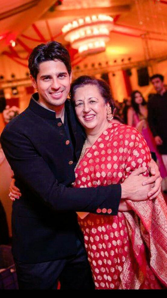 Image result for siddharth malhotra mother