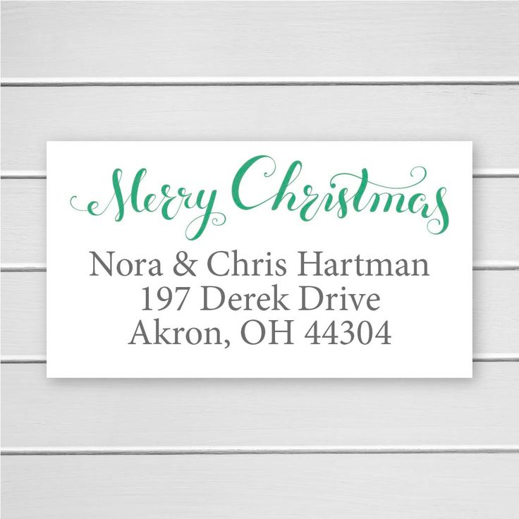 Merry Christmas Return Address Stickers, Christmas Return Address Labels, Return Address Stickers (#357) by OrangeUmbrellaCo on Etsy https://www.etsy.com/listing/256280733/merry-christmas-return-address-stickers