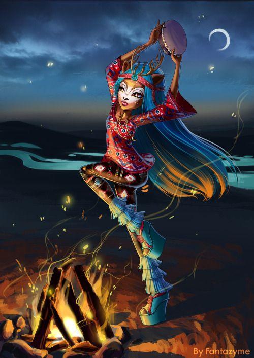 Isi Dawndancer - Monster High new Art