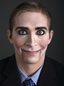 creepy puppet makeup for halloween - Puppet Halloween