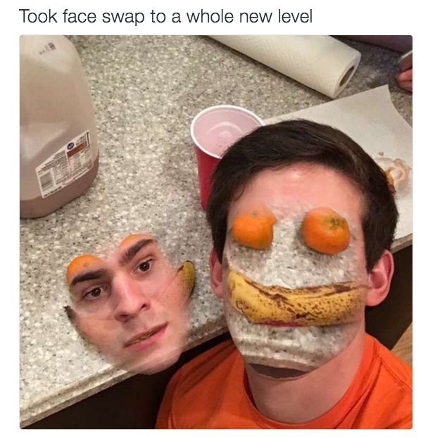 …inanimate objects… | Show Us Your Funniest Snapchat Face Swap