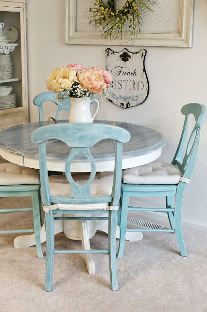 Inspirations: Dining table and chairs make-over