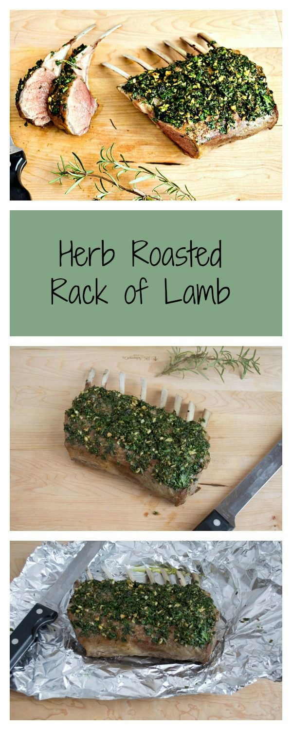 Whole30 Whole 30 Herb Roasted Rack of Lamb Simple and Delish!
