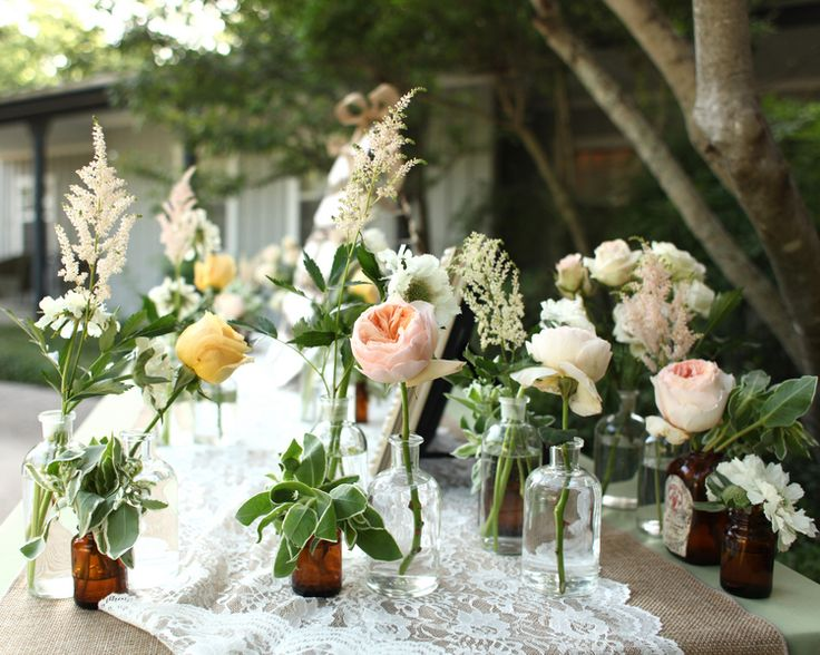Rustic Wedding Decor Lot