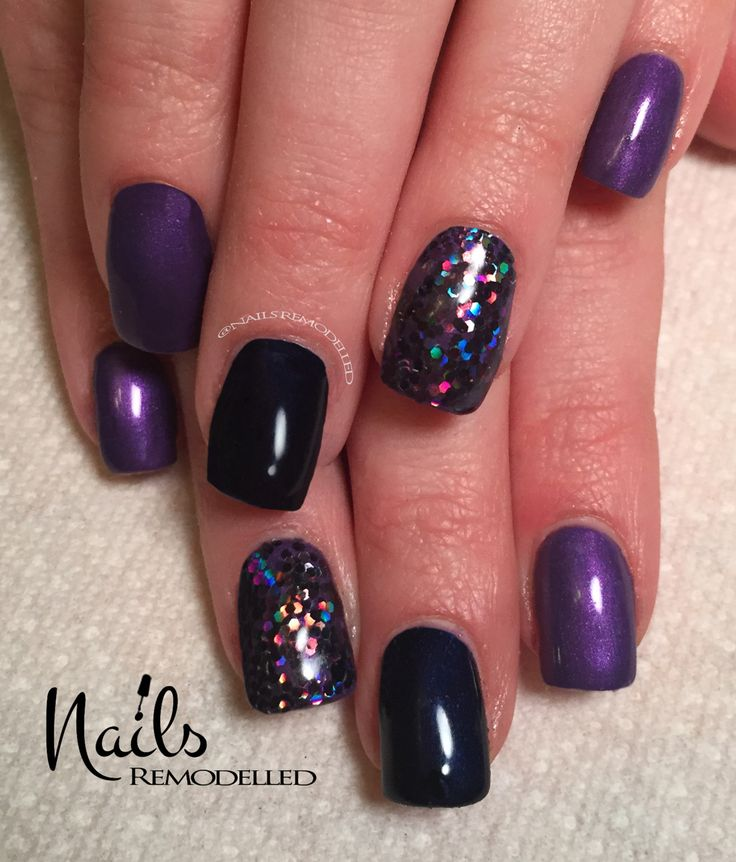 Black Nail Art: 1000+ Ideas About Glitter Accent Nails On Pinterest