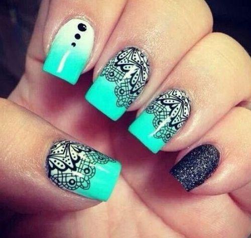 Stunning Nails | See more nail designs at http://www.nailsss.com/acrylic-nails-ideas/2/