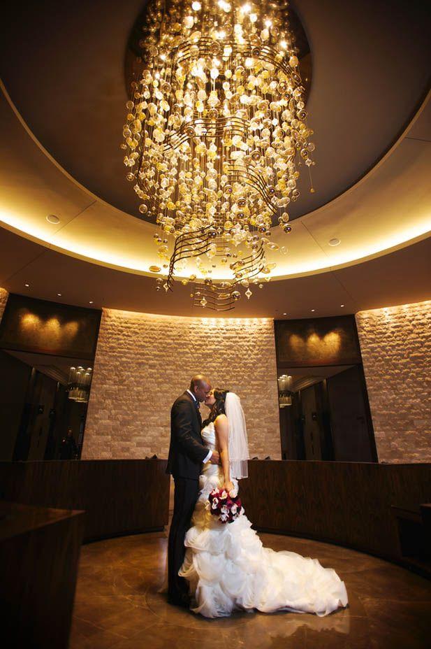 Elegant Jewel Toned Ballroom Wedding at the Omni Nashville Hotel (Justin Wright Photography)
