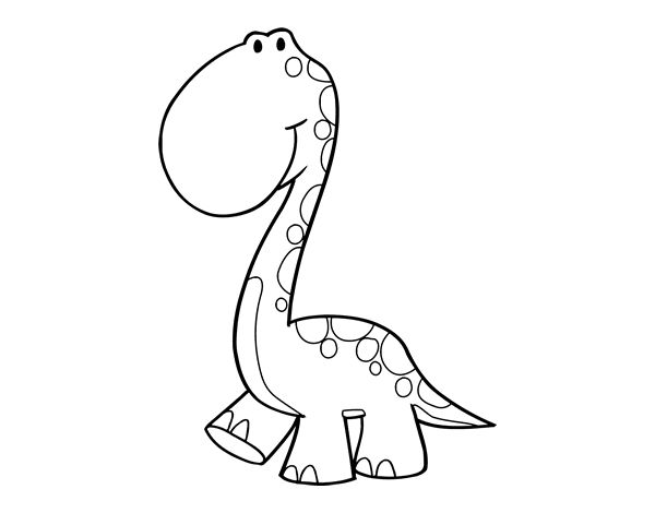 Dibujo De Pterosaurio Para Colorear