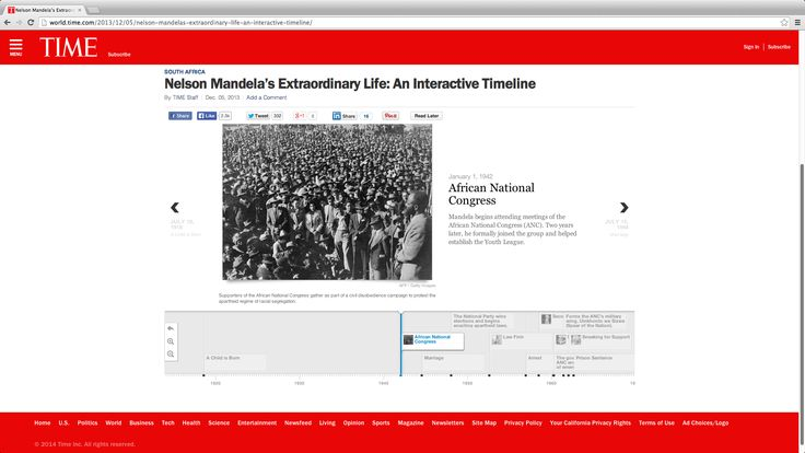 Nelson Mandela's Extraordinary Life: An Interactive Timeline | TIME