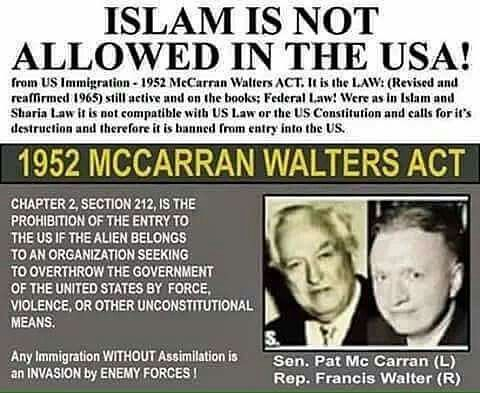 Libtards are trying to sweep this federal law under the rug because it doesn't align with their ideology.