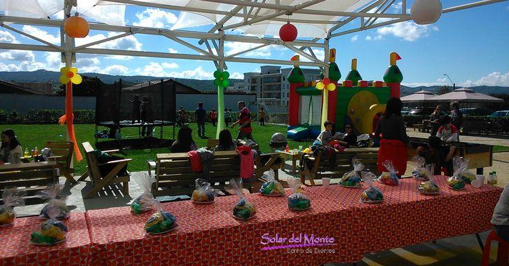 Cumpleaños infantiles. Nosotros nos encargamos de todo! - www.solardelmonte.cl