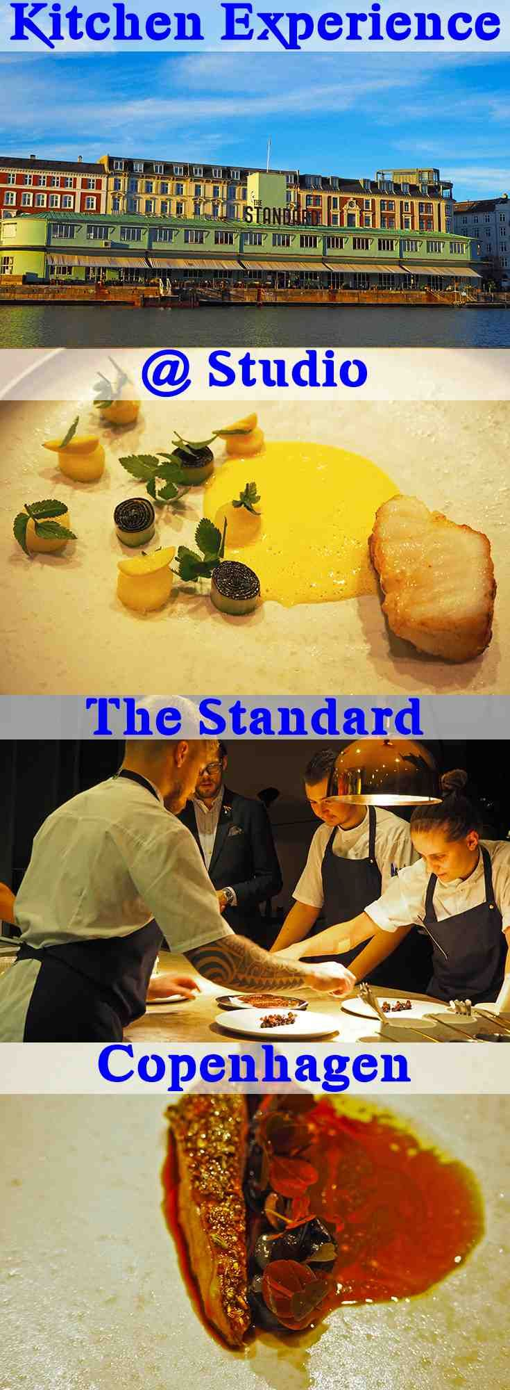 Watch the chefs prepare all the dishes with the Kitchen Experience at Studio. A michelin star restaurant with a relaxed atmosphere and excellent food #whodoido #studio #finedining #thestandard #copenhagen