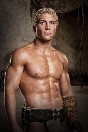 Varo (played by Jai Courtney in Spartacus) is my Adonis. Or just Jai Courtney in general.