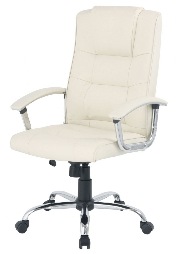 Office Chair Cream Leather - Custom Home Office Furniture Check more at http://invisifile.com/office-chair-cream-leather/