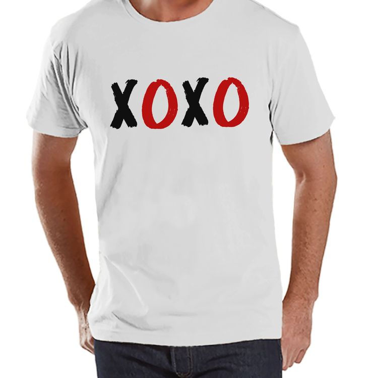 Stop by and check out our new item! Men's Valentine S.... Check it out here! http://7ate9apparel.com/products/mens-valentine-shirt-mens-xoxo-valentines-day-shirt-valentines-gift-for-him-hugs-kisses-funny-happy-valentines-day-white-shirt?utm_campaign=social_autopilot&utm_source=pin&utm_medium=pin