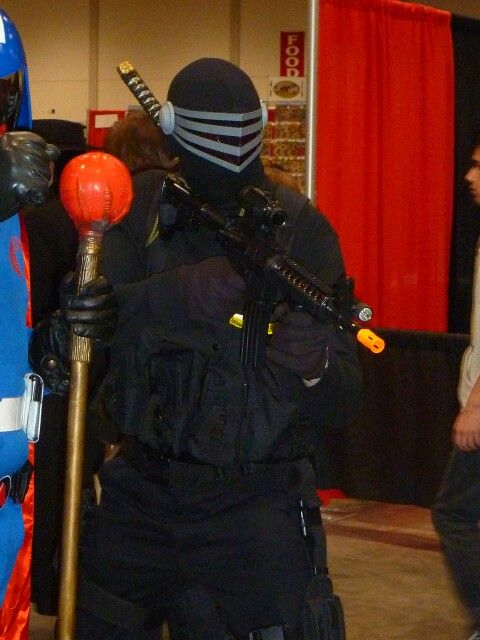 Snake Eyes Toronto Comicon/FanExpo by Shane C