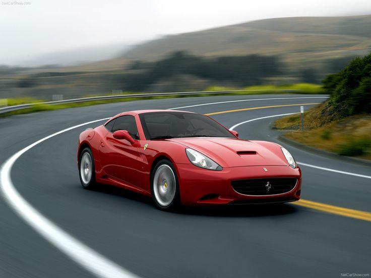 Ferrari California red #3