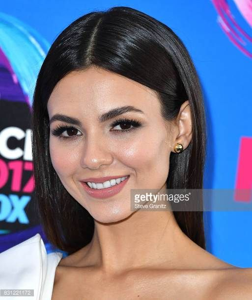 Victoria Justice arrives at the Teen Choice Awards 2017 at Galen Center on August 13 2017 in Los Angeles California