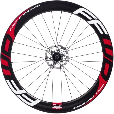 FFWD F6D: 60mm tubular rim with FFWD DARC profile for disc brakes!