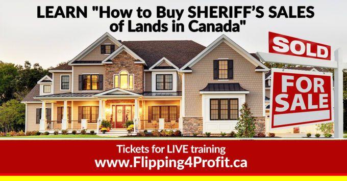 Sheriff's Sales of Lands 376 Crescent Rd, Sundridge, Ont