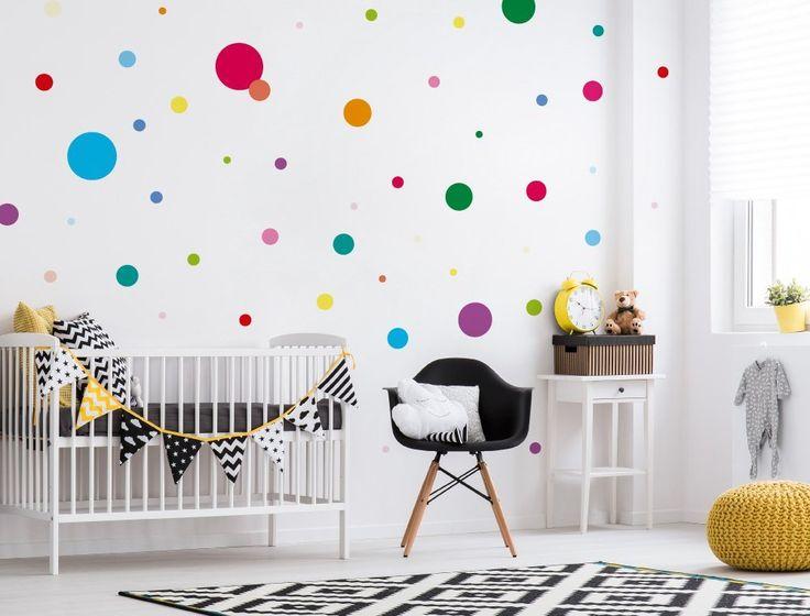 Cool I love Wandtattoo WAS Kinderzimmer Wandsticker Set Bunte Kreise