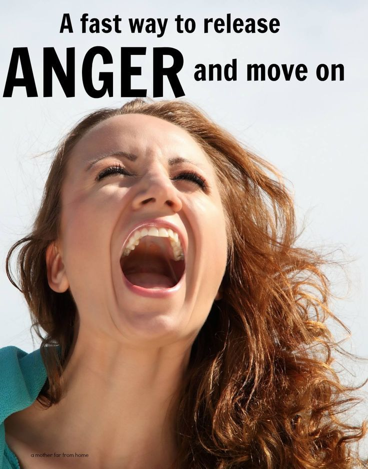 A fast way to release anger and move on. Good read for mothers who are struggling with anger and yelling.