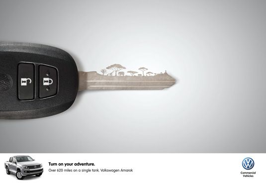 """Volkswagen """"turn on your adventure"""""""