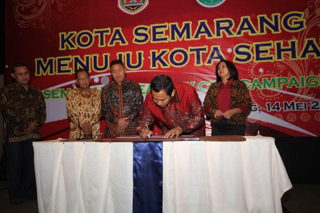 Semarang menuju Kota Sehat