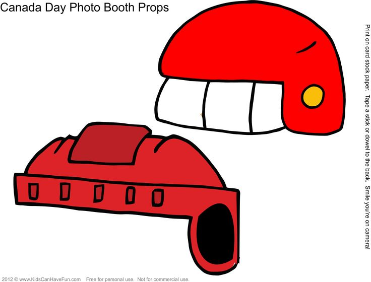Free DIY Canada Day Photo Booth Props Page 6  http://www.kidscanhavefun.com/photo-booth-props.htm