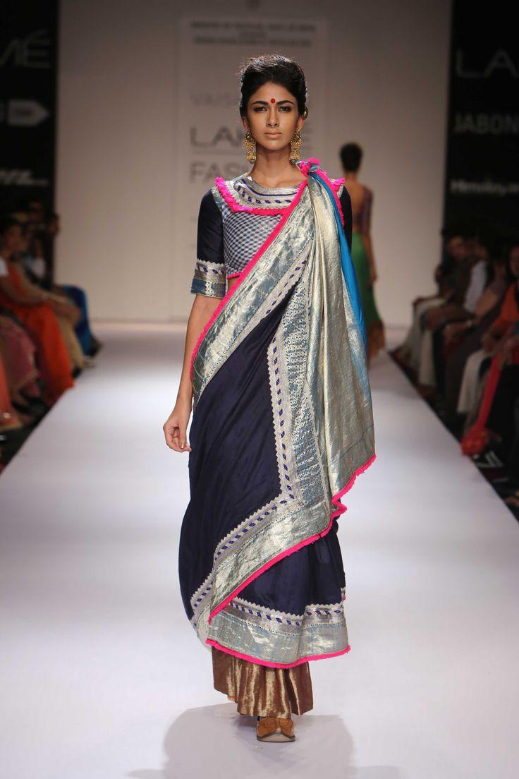Vaishali's collection at Lakme Fashion Week/Winter Festive 2014. #lakmefashionweek #JabongLFW
