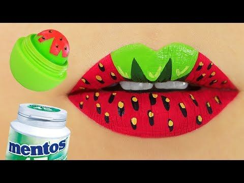 DIY Back to School Makeup School Supplies!! Weird School Supplies You Need to Try! - YouTube
