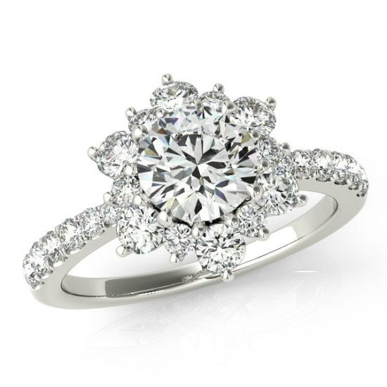 1 Carat Forever One Moissanite & Diamond by RavenFineJewelers