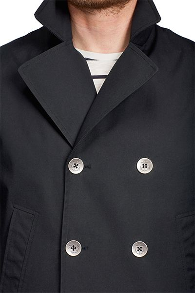 Makia Canvas Pea Coat.