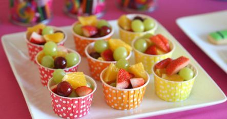 Oh so tasty fruit cupcakes. Great for lunch boxes and at home I could eat this all day long.