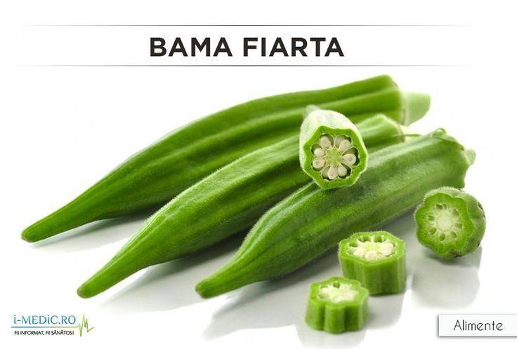 Bamele au multiple beneficii pentru organism. Sunt legume cu continut de vitamina C, vitamina B9 si alte vitamine, surse de calciu, antioxidante - http://www.i-medic.ro/diete/alimente/bama-fiarta