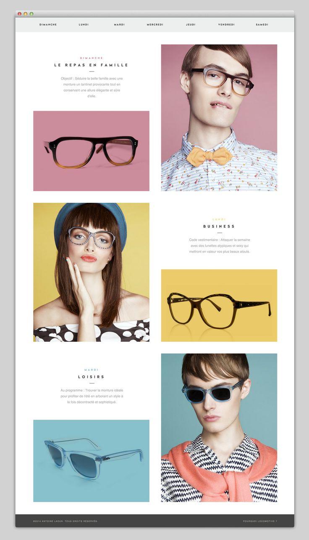 Antoine Laoun Website - box layout | pastels | css animation | sleek typeface | flat design