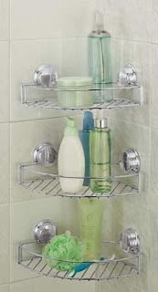 Becoming the Ultimate Housewife: Shower Organizing Ideas!