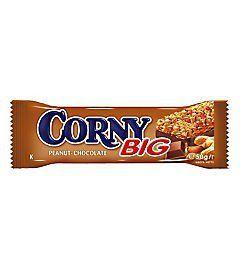 Corny Big arašídová s čokoládou 50g | Rozvoz potravin České Budějovice a okolí