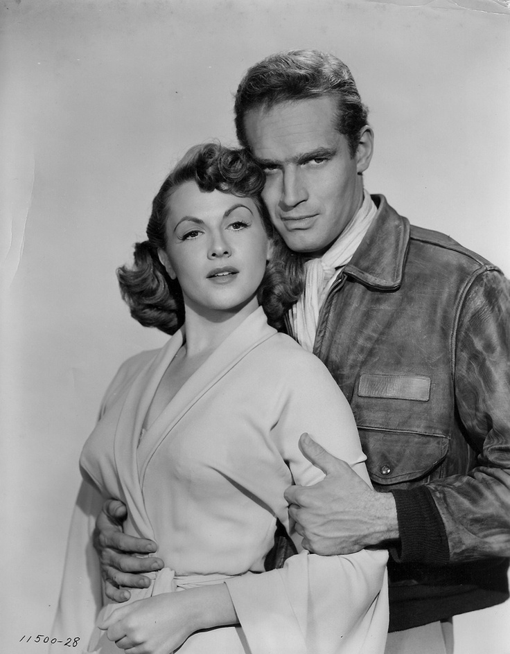Charlton Heston & Nicole Murray