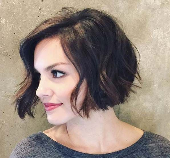 photo hair style 1000 ideas about wavy bobs on bobs bob 8091