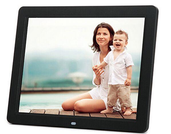Ramka cyfrowa 10 cali HD TFT-LCD 1024*600 Cyfrowa Ramka na zdjęcia z Budzikiem MP3 MP4 Odtwarzacz Filmów