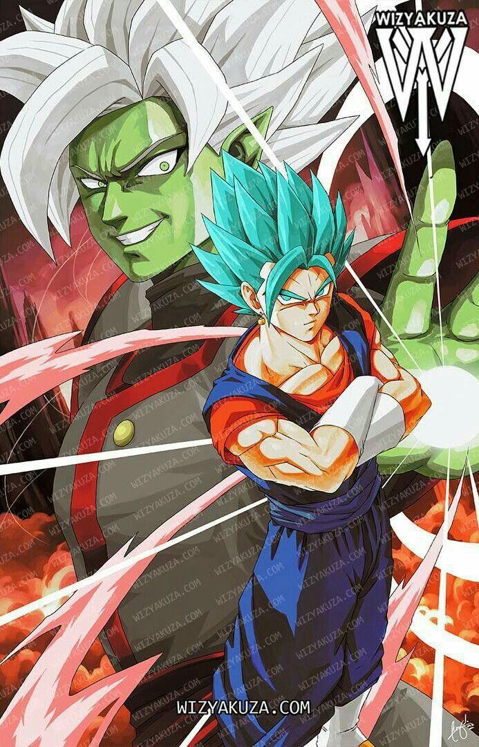 Merged Zamasu Vs Vegetto Dragon Ball Z Dragon Ball Goku Dragon Ball Wallpapers