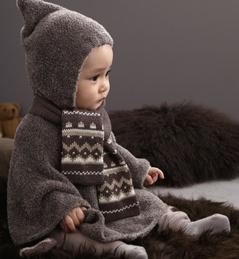 le poncho pour bebe