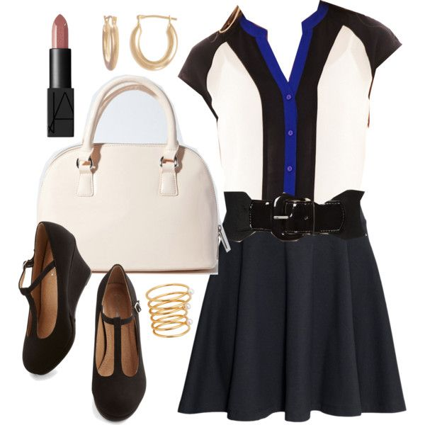 Melissa Hastings inspired outfit by liarsstyle on Polyvore featuring Worthington, H&M, Forever 21, Style & Co., NARS Cosmetics, Lunch, date and ss