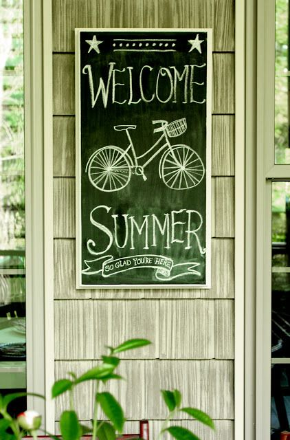 Less-Than-Perfect Life of Bliss: Because This House Can Always Use Another Chalkboard