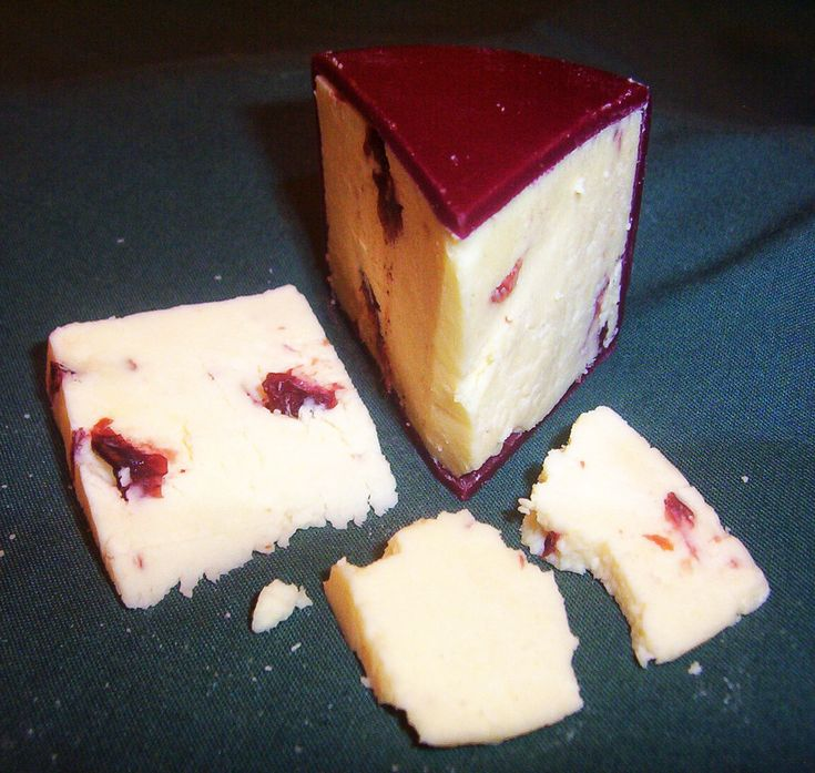 Wensleydale Cheese with Cranberries
